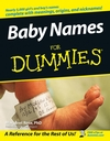 Baby Names For Dummies (1118069005) cover image