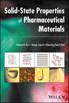thumbnail image: Solid State Properties of Pharmaceutical Materials