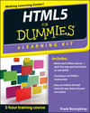 HTML5 eLearning Kit For Dummies (1118236505) cover image