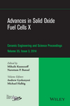 Advances in Solid Oxide Fuel Cells X: Ceramic Engineering and Science Proceedings, Volume 35, Issue 3 (1119040205) cover image