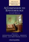 A Companion to Epistemology, 2nd Edition (1405139005) cover image