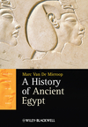 A History of Ancient Egypt (1405160705) cover image