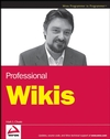 Professional Wikis (0470126906) cover image