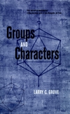 Groups and Characters (0471163406) cover image