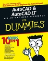 AutoCAD and AutoCAD LT All-in-One Desk Reference For Dummies (0471752606) cover image