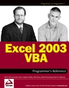 Excel 2003 VBA Programmer's Reference (0764556606) cover image
