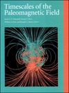 Timescales of the Paleomagnetic Field, Volume 145 (0875904106) cover image