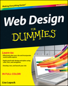 Web Design For Dummies, 3rd Edition (1118004906) cover image