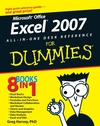 Excel 2007 All-In-One Desk Reference For Dummies (1118050606) cover image