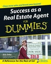 Success as a Real Estate Agent For Dummies (1118053206) cover image