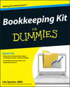 Bookkeeping Kit For Dummies (1118237706) cover image