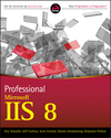 Professional Microsoft IIS 8 (1118439406) cover image
