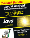 Java and Android Application Development For Dummies eBook Set (1118604806) cover image