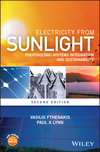 Electricity from Sunlight: Photovoltaic-Systems Integration and Sustainability, 2nd Edition (1118963806) cover image