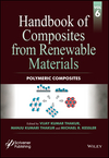 Handbook of Composites from Renewable Materials, Volume 6, Polymeric Composites (1119223806) cover image