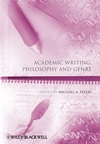 Academic Writing, Philosophy and Genre (1405194006) cover image