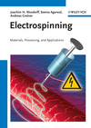 Electrospinning: Materials, Processing, and Applications (3527320806) cover image