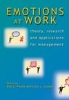 Emotions at Work: Theory, Research and Applications for Management (0470023007) cover image