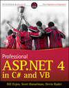 Professional ASP.NET 4 in C# and VB (0470502207) cover image