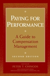 Paying for Performance: A Guide to Compensation Management, 2nd Edition (0471176907) cover image