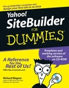 Yahoo! SiteBuilder For Dummies (0764598007) cover image