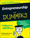 Entrepreneurship For Dummies (1118069307) cover image
