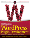 Professional WordPress Plugin Development (1118075307) cover image