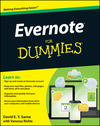 Evernote For Dummies (1118237307) cover image