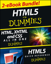 HTML5 For Dummies eBook Set (1118607007) cover image
