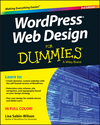 WordPress Web Design For Dummies, 3rd Edition (1119088607) cover image
