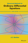 thumbnail image: Numerical Methods for Ordinary Differential Equations, 3rd Edition
