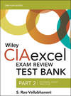 Wiley CIAexcel Exam Review 2016 Test Bank: Part 2, Internal Audit Practice (1119242207) cover image