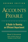 Accounts Payable: A Guide to Running an Efficient Department, 2nd Edition (0471636908) cover image