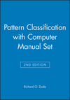 Pattern Classification 2nd Edition with Computer Manual 2nd Edition Set (0471703508) cover image