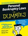 Personal Bankruptcy Laws For Dummies, 2nd Edition