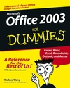 Microsoft Office 2003 For Dummies (0764538608) cover image