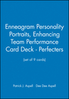 Enneagram Personality Portraits, Enhancing Team Performance Card Deck - Perfecters (set of 9 cards) (0787908908) cover image