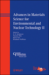 Advances in Materials Science for Environmental and Nuclear Technology II (1118060008) cover image