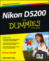 Nikon D5200 For Dummies (1118530608) cover image