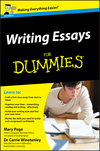Writing Essays For Dummies, UK Edition (0470742909) cover image