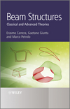 Beam Structures: Classical and Advanced Theories (0470972009) cover image