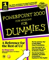 PowerPoint 2000 For Windows For Dummies (0764504509) cover image