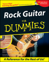 Rock Guitar For Dummies (1118069609) cover image