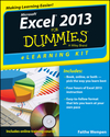 Excel 2013 eLearning Kit For Dummies (1118493109) cover image