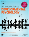 thumbnail image: An Introduction to Developmental Psychology 3rd Edition