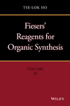 thumbnail image: Fiesers' Reagents for Organic Synthesis, Volume 28