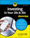 Investing in Your 20s and 30s For Dummies, 2nd Edition (1119431409) cover image