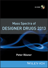 thumbnail image: Mass Spectra of Designer Drugs 2013