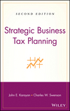 Strategic Business Tax Planning, 2nd Edition (047000990X) cover image