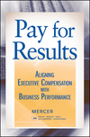 Pay for Results: Aligning Executive Compensation with Business Performance (047018390X) cover image